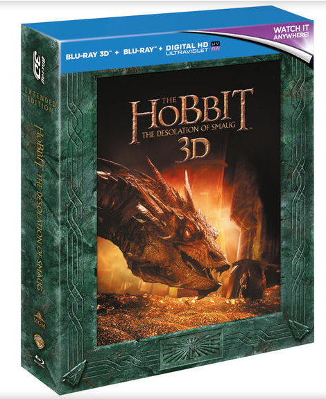 THE HOBBIT: THE DESOLATION OF SMAUG Extended Cut packaging