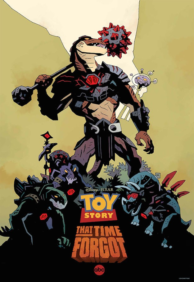 TOY STORY THAT TIME FORGOT SDCC poster