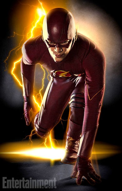Grant Gustin as The Flash in THE FLASH