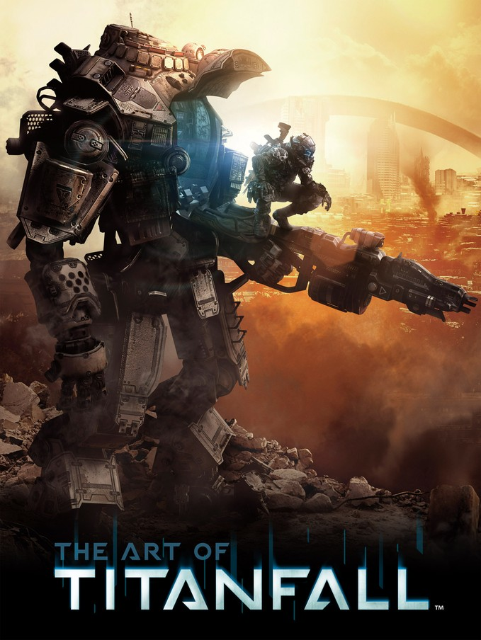 ART OF TITANFALL - Titan Books - cover