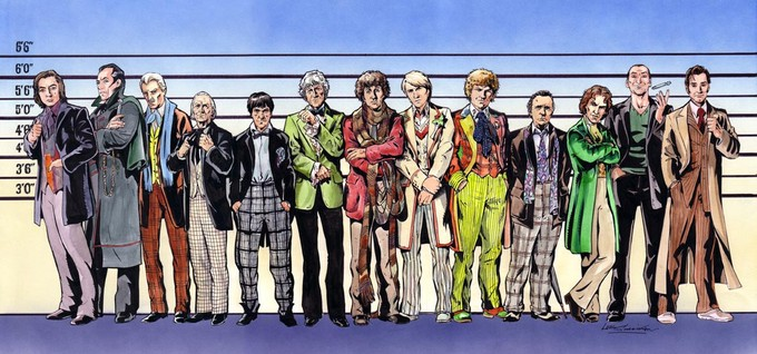 DOCTOR WHO - Usual Suspects