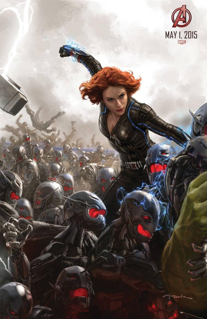 AVENGERS: AGE OF ULTRON Back Widow promo