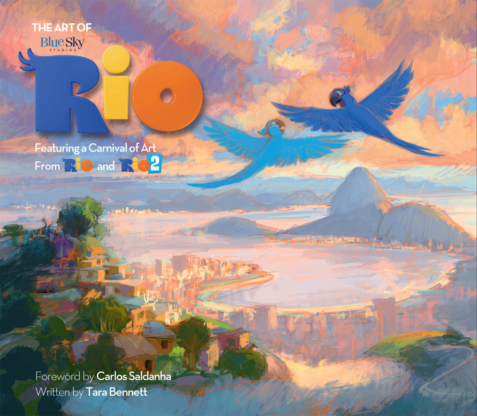ART OF RIO - Titan Books