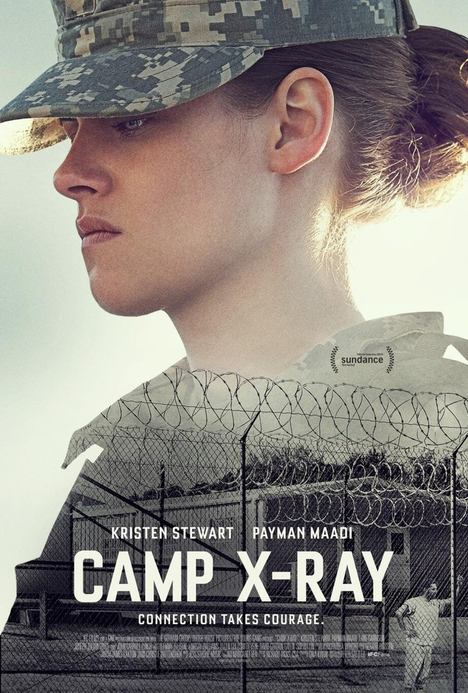 CAMP X-RAY poster