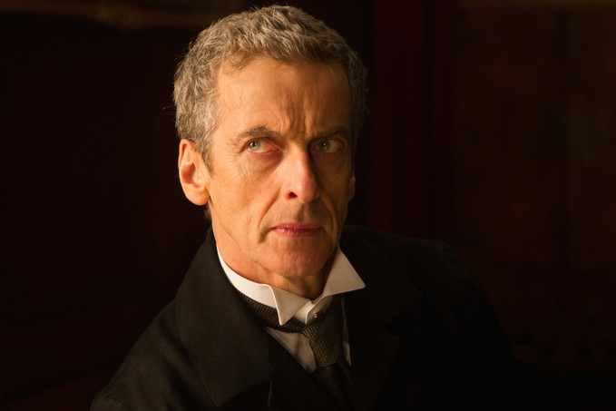 Peter Capaldi Season/Series 8 promo shot