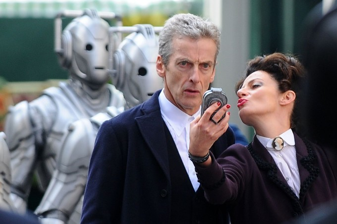 Capaldi WHO S8 filming
