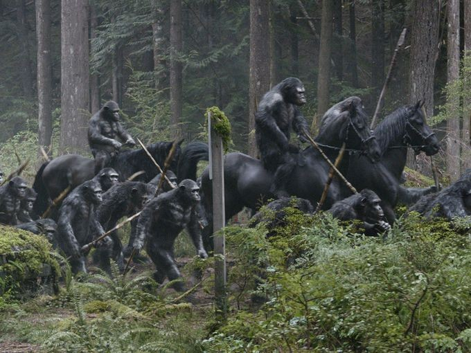 DAWN OF THE PLANET OF THE APES - USA Today