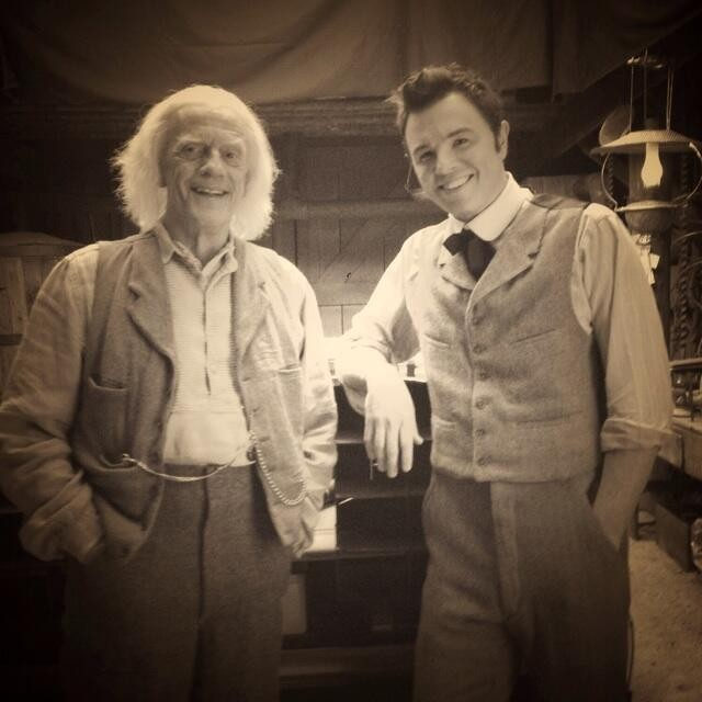 Doc Brown / Seth MacFarlane