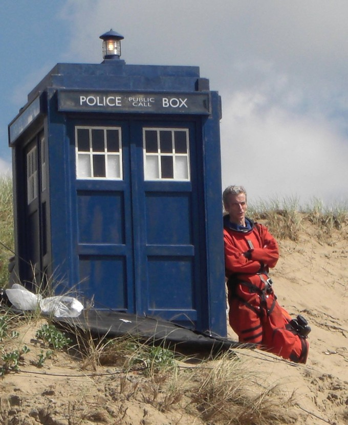 DOCTOR WHO S8 filming