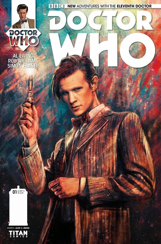 DOCTOR WHO 11th Doctor comic - Titan