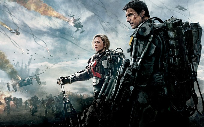 EDGE OF TOMORROW promo art