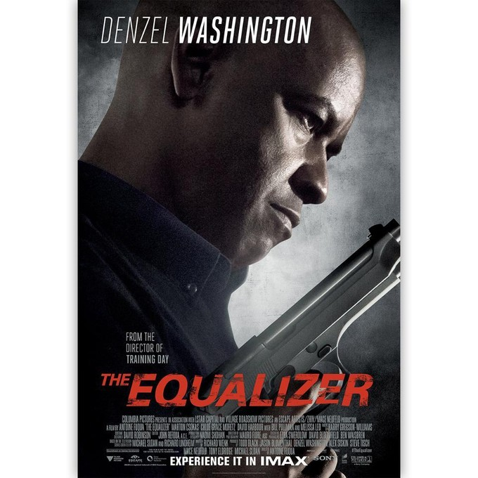 EQUALIZER IMAX poster