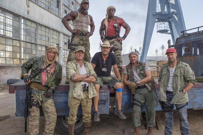 EXPENDABLES 3 cast shot