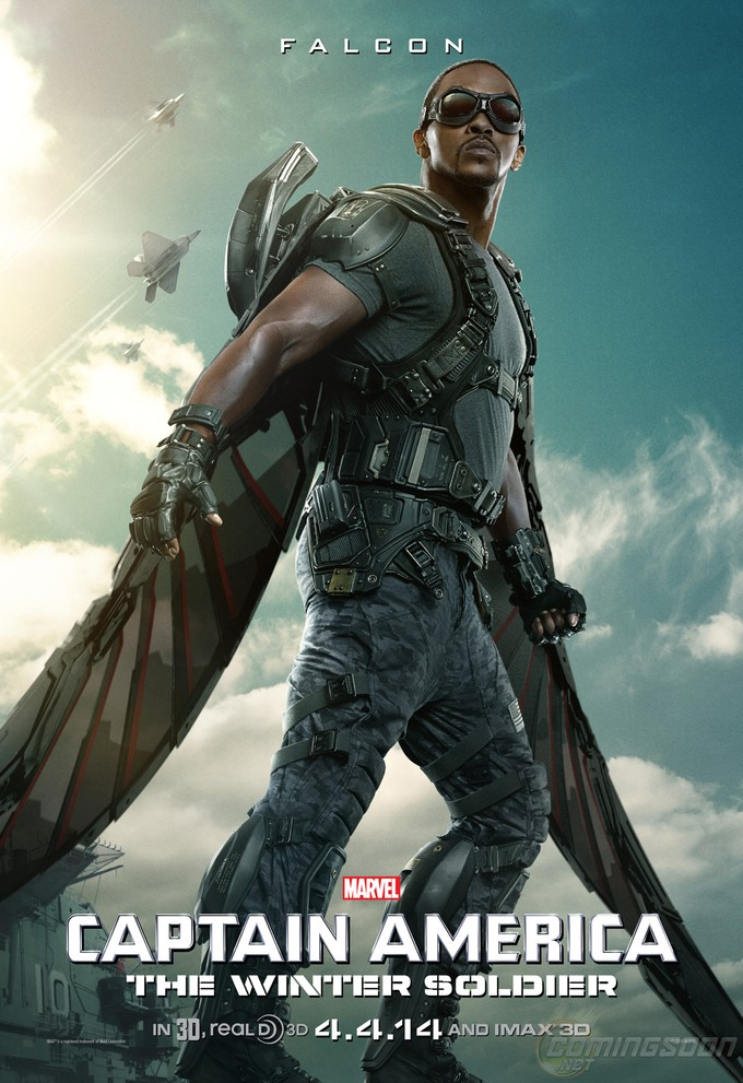 CAPTAIN AMERICA: THE WINTER SOLDIER - Falcon poster