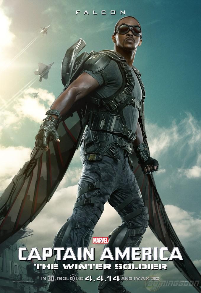 CAPTAIN AMERICA: THE WINTER SOLDIER - Falcon poster