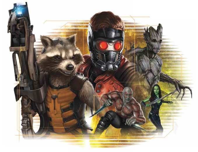 GUARDIANS OF THE GALAXY product
