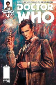 DOCTOR WHO - 11th Doctor comics - Titan cover
