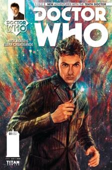 DOCTOR WHO - 10th Doctor comics - Titan cover