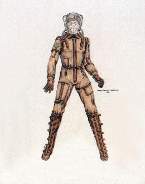 Classic BSG costume design