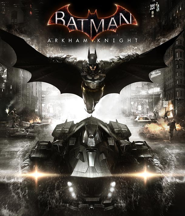 BATMAN: ARKHAM KNIGHT game cover