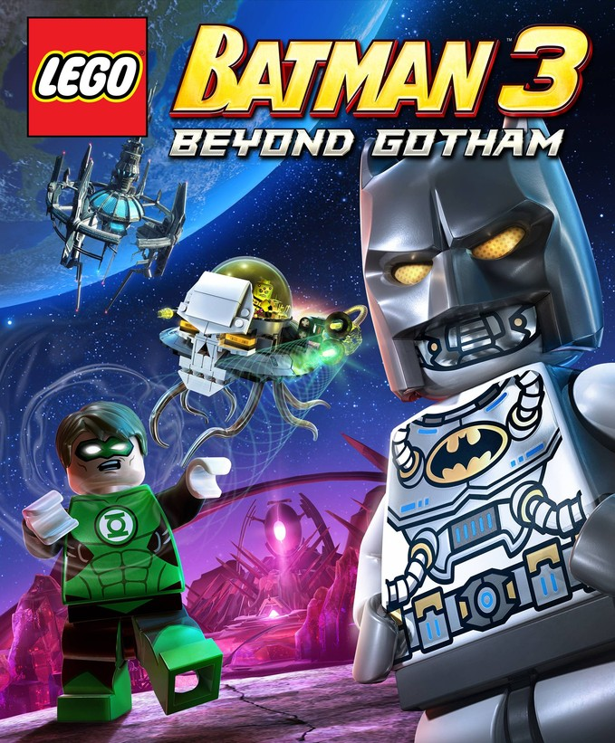 LEGO BATMAN 3 package art