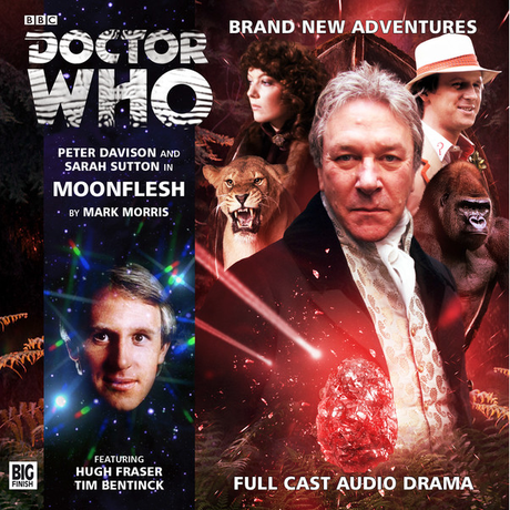 DOCTOR WHO: Moonflesh Big Finish Audio cover