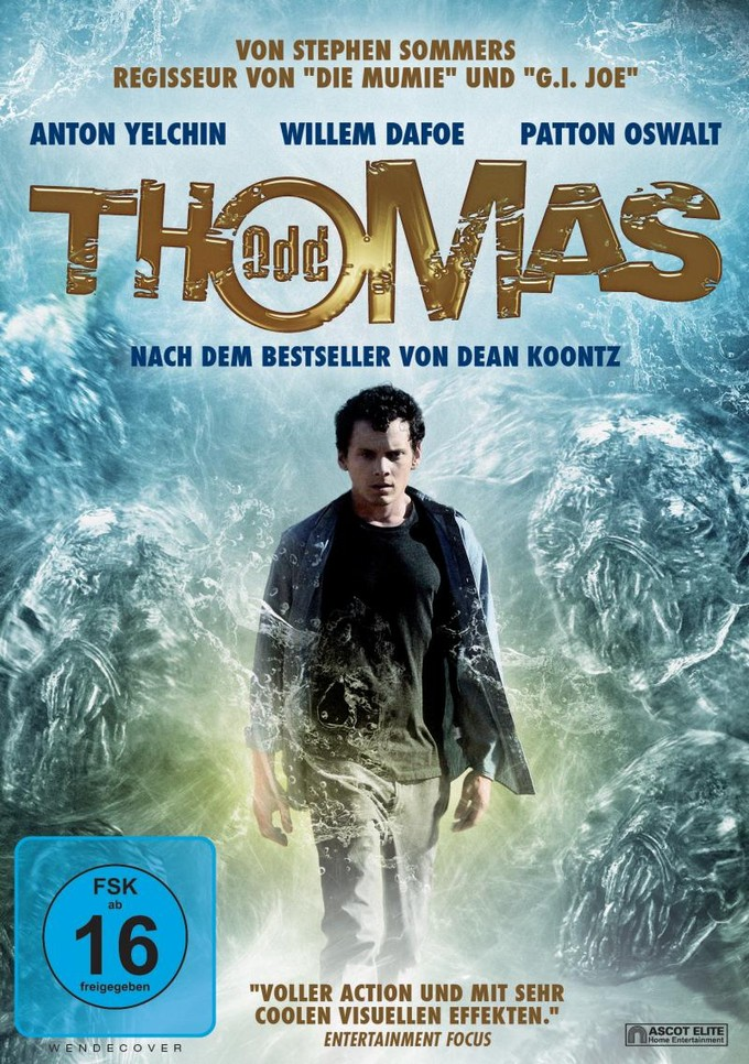 ODD THOMAS home vid cover