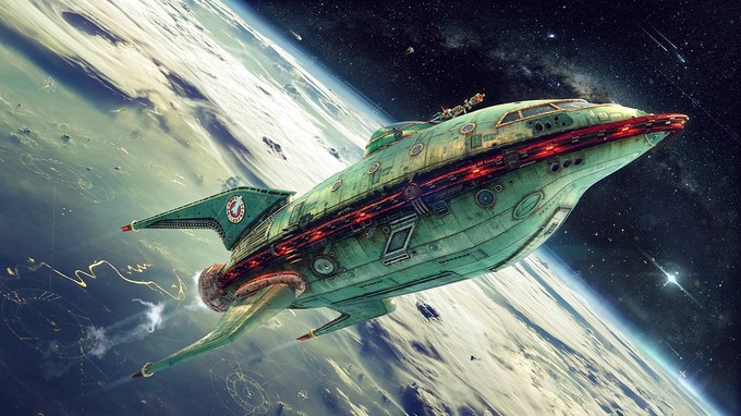 FUTURAMA- Planet Express - Zakharov