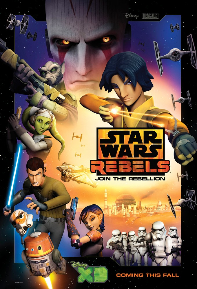 STAR WARS REBELS promo art