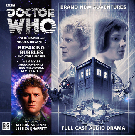 DOCTOR WHO: Breaking Bubbles and Other Stories Big Finish Audio cover