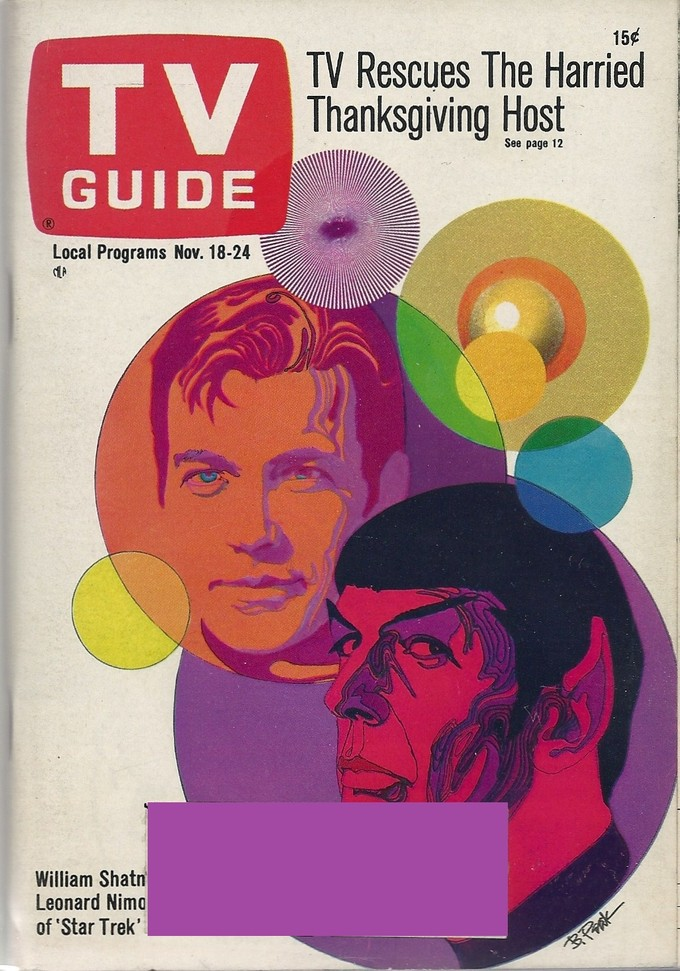 STAR TREK vintage TV Guide