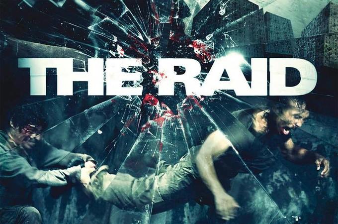 THE RAID art