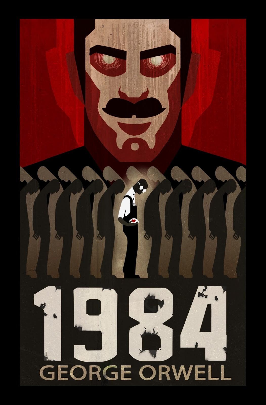 Why did George Orwell write 1984?