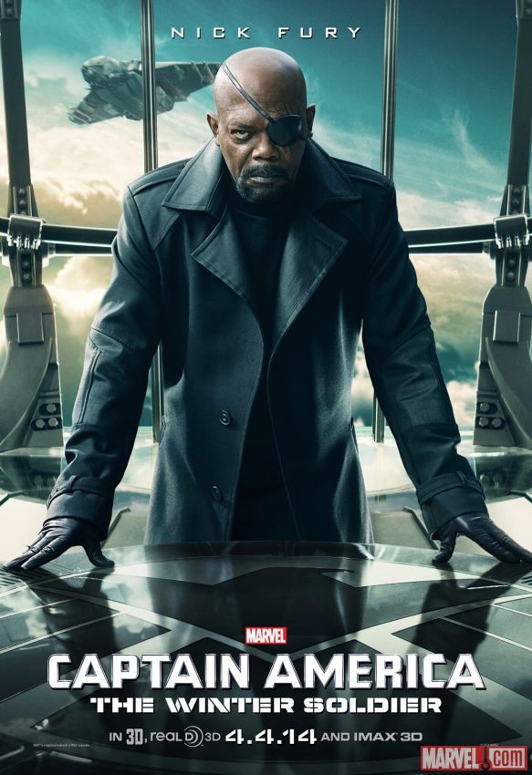CAPTAIN AMERICA: THE WINTER SOLDIER Nick Fury