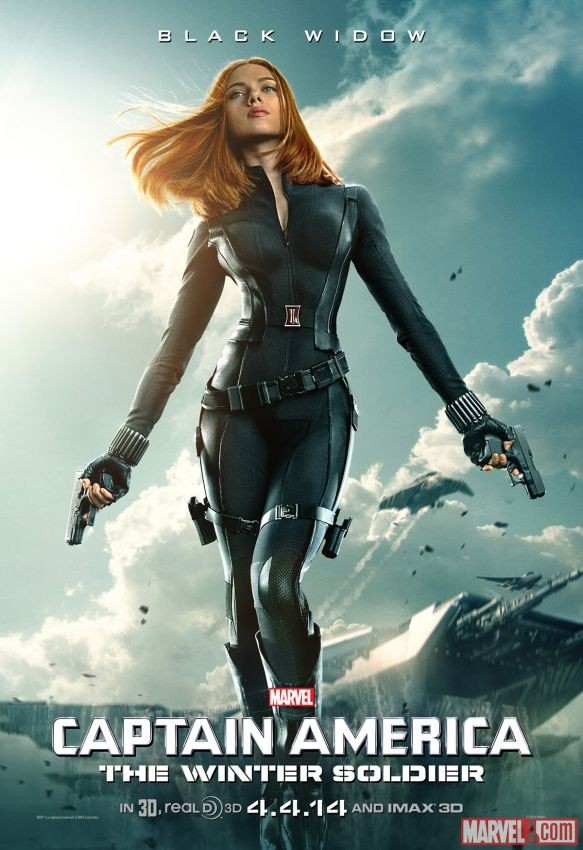 CAPTAIN AMERICA: THE WINTER SOLDIER Black Widow