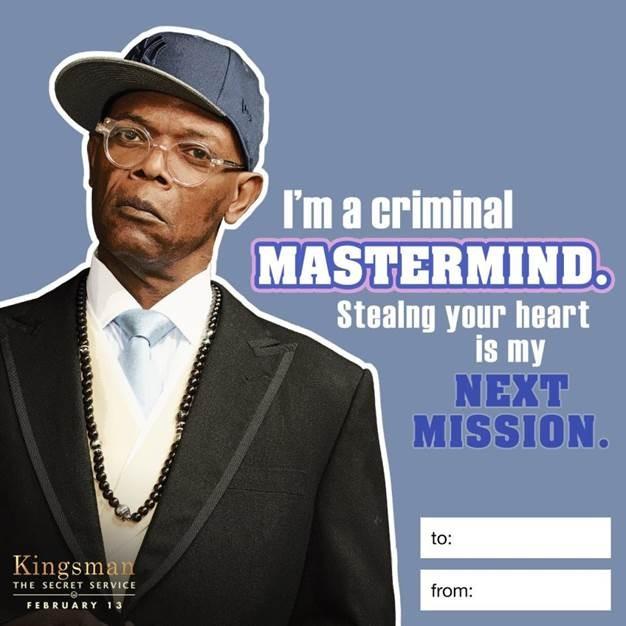 Kingsman The Secret Service Quotes: KINGSMAN: THE SECRET SERVICE Has Some VALENTINES For You