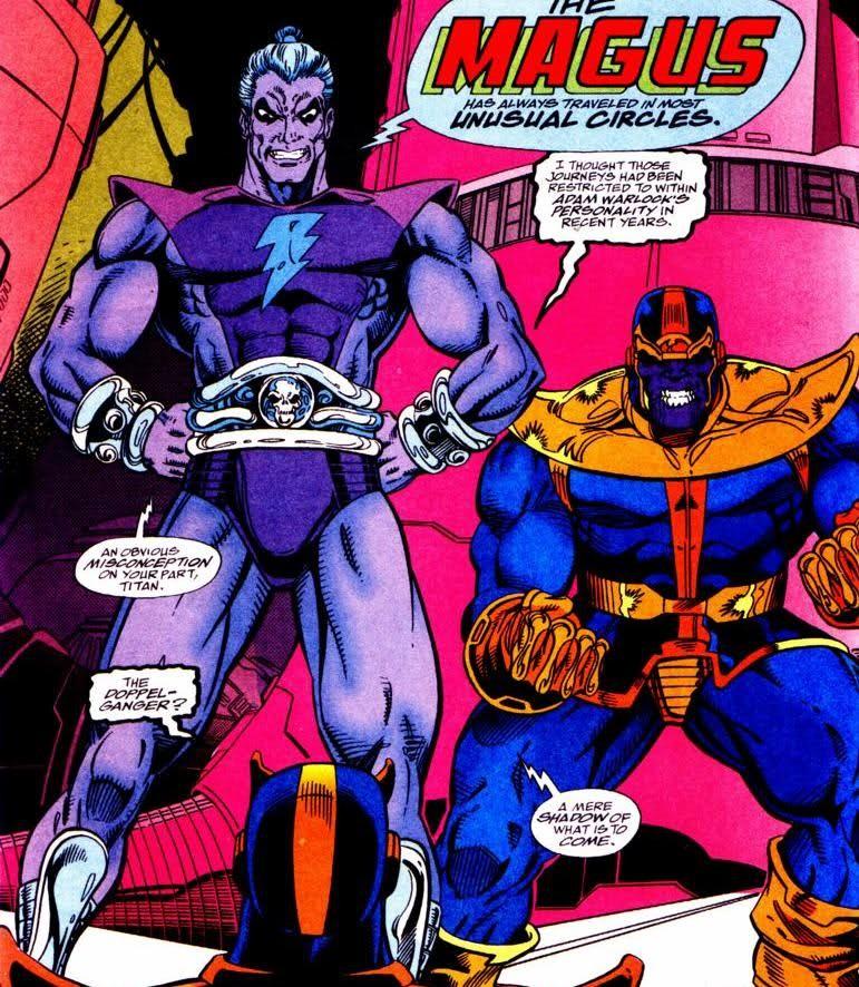 Avengers Infinity War Magus