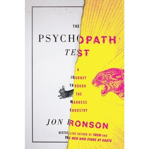 Book Cover Graphism Quiz ~ Universal and imagine give the psychopath test to scarlett