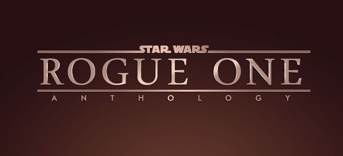 STAR WARS ANTHOLOGY: ROGUE ONE fan logo recreation
