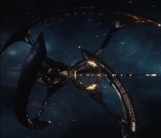 Passengers teaser unveils the ship romance for Passengers spaceship