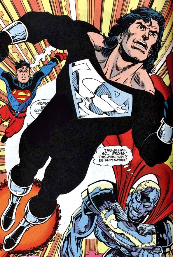 Superman will be back in black in JUSTICE LEAGUE!  Superman will b...
