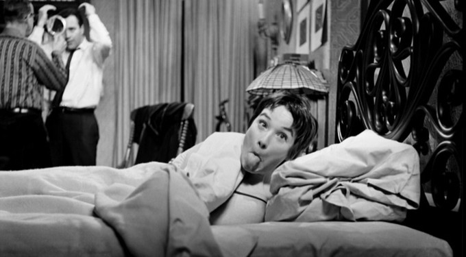 Todayu0027s BTS Pic From The Apartment Is Great Because It Captures Some Of The  Fun Spirit Of The Movie (and I Also Like That You Can See Lemmon Getting  Himself ...