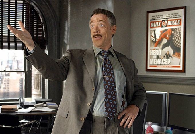J jonah jameson jumps ship to dc jk simmons in justice