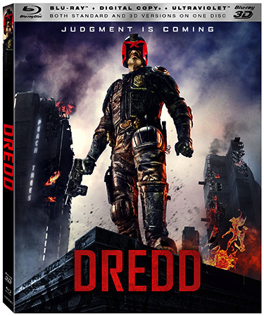 DREDD 3D Blu-ray Box Art
