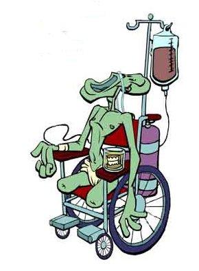 hercules in a wheelchair