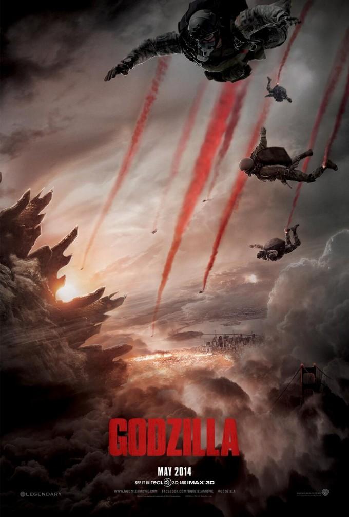 GODZILLA (2014) teaser poster
