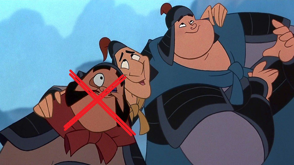 Ling And Chien Po Added To Mulan But No Yao Yet