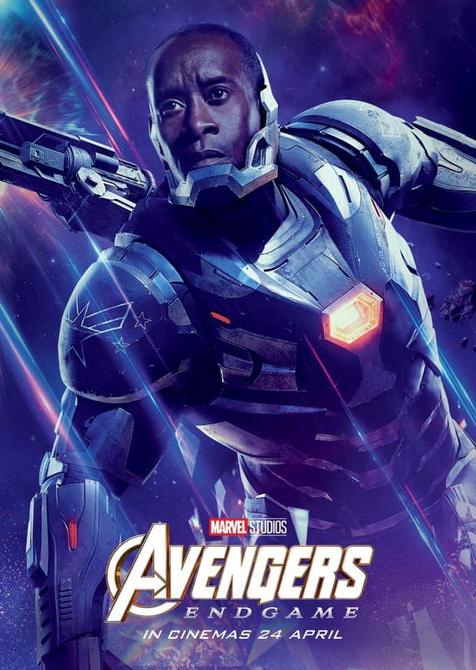 12 New Avengers Endgame Character Posters Tease Thailand Release