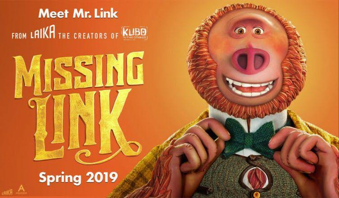 """Movie Poster 2019: """"MISSING LINK"""" Has Something Missing, Says Big Eyes- Review"""