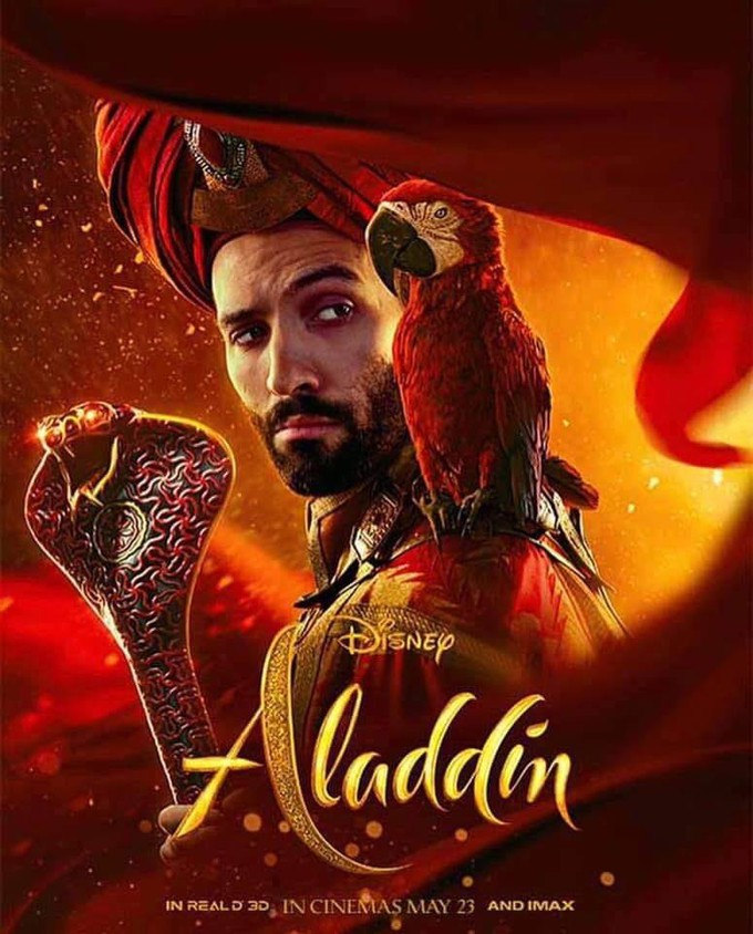 """May The 4th Be With You Disney 2019: Poster Drop For Disney's Live Action """"ALADDIN"""""""